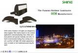 Les éclairages LED 150W Dlc ETL de cadre de chaussure de lampes de parking de l'éclairage LED DEL de parking ont indiqué