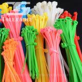 Selbstsichernder Plastikkabelbinder des Nylon-66