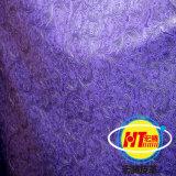 PVC sintético em relevo para móveis de sofá