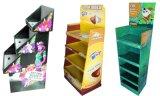 Carrinhos de indicador do assoalho do anúncio de produtos do cartão