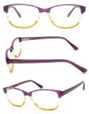 2015 de In het groot Kleurrijke Optische Glazen van het Meisje met het Frame van de Acetaat en de RubberTempel van het Hart (Eik