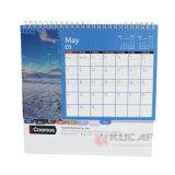 Calendário de mesa de papel de fornecimento de escritório de alta qualidade