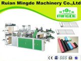 Cold Cutting T Shirt Bag Making Machine com oito linhas