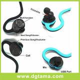 Orecchio stereo senza fili del doppio di verde della Sudare-Prova della cuffia Hv600 della cuffia avricolare di Bluetooth