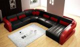 [بست-سلّينغ] حديثة [لفينغ] غرفة قطاعيّة جلد أريكة ([هك1071])