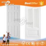Белая покрашенная отлитая в форму HDF кожа двери