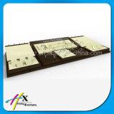 Стойка индикации выставки роскошного высокого качества деревянная для вахты