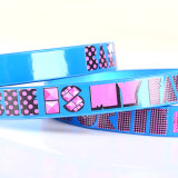 Blue Color Girl Belt Fashion Ceinture en cuir PU Leather (RS-050609)