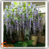 Albero del fiore artificiale della vetroresina della decorazione di cerimonia nuziale