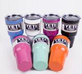 Todos os novos tipos copo colorido do Yeti do Tumbler 30oz 20oz do Rambler do Yeti com o pó revestido