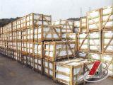 Marmo naturale cinese del Brown per le mattonelle, le lastre ed i controsoffitti