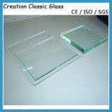 Feuille de verre flottant clair pour la construction, la fenêtre, tempérée et stratifiée