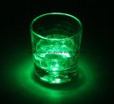 El LED que contellea enciende para arriba la pista de la etiqueta engomada de la taza para la barra (FK-3033)