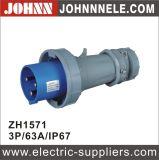 IP67 3p 63A Spitzenstecker für industrielles