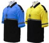 Короткая форма работы рубашки пола Микро--Сетки Cooldry втулки
