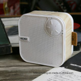 小型木のステレオの無線スピーカー