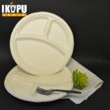 3개의 격실 뚜껑을%s 가진 Eco-Friendly Microwaveable 플라스틱 음식 콘테이너