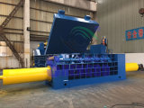 Hydraulischer elektrischer Strom-Eisen- und Nichteisenaufbereitenmetalballenpresse