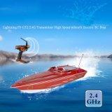 225bl070bp-1300bp barco que compite con eléctrico de alta velocidad del transmisor 60km-H RC del relámpago Fs-Gt2 2.4G