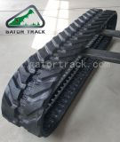 A borracha segue as trilhas da máquina escavadora (400X72.5W)