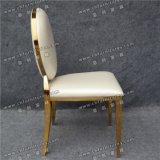 Venda por atacado elevada da classe que Wedding o aço inoxidável real de cadeira de couro (YC-ZS25)