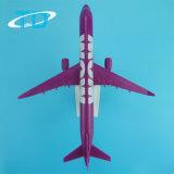 Modelos plásticos de encargo de los aviones del exitazo los 22cm de A321neo 1/200