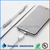 2 in 1 USB 2.0 aan Power Charging en Magnetic Date USB Cable voor iPhone
