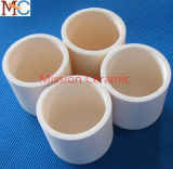 Crisol de cerámica resistente abrasivo 1800c Al2O3