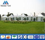 開会式の党のための屋外の白い塔のイベントのテントの玄関ひさし