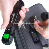 Escala del equipaje de Digitaces de la visualización del LCD/escala electrónica portable del equipaje que viaja
