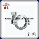 Morsetto sanitario del trifoglio dell'accessorio per tubi dell'acciaio inossidabile tri