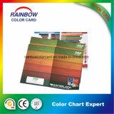 Impression de couleur complète Carte de couleur en bois pour la publicité