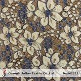 2 Scalloped цветами оптовая продажа ткани шнурка цветка хлопка (M2221)