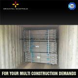 Apuntalamiento del andamio para los proyectos de construcción