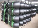 Ajustage de précision de pipe noir de soudage bout à bout d'acier du carbone