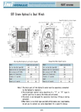 Argano idraulico del timpano della gru della nave di brevetto di invenzione di Ini doppio