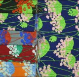 Do poliéster do jacquard do Chenille do sofá da tela de Upholstery do Chenille tela 100% de matéria têxtil