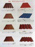Dx51dのGIの金属の波形カラー鋼鉄屋根瓦