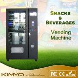 Distributore automatico combinato popolare delle acque in bottiglia con lo schermo dell'affissione a cristalli liquidi