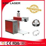 Máquina de marcação a laser portátil de fibra de 20W / 30W / 50W para bateria de celular