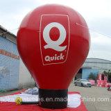 屋外のための20FTの6m赤く高いカスタム地上の気球