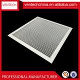 Traliewerk van Eggcrate van de Kern van het Traliewerk van de Ventilatie van het Aluminium van Systemen HVAC het Verwijderbare