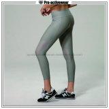 OEMの工場網が付いているカスタム適性の女性のヨガのレギングのズボン
