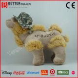 Camello suave del juguete de la alta calidad en un sombrero