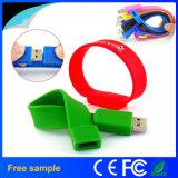 Carte mémoire Memory Stick personnalisée du bracelet USB de la bande de poignet USB Pendrive