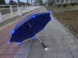 Компактное складывая СИД Reverted зонтик перемещения зонтика