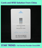 Cartão chave do PVC com a listra magnética do Loco (ISO 7811) para o hotel