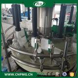 Linha de produção máquina da água de etiquetas adesiva giratória para o frasco de vinho