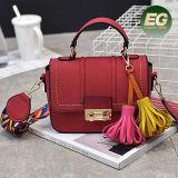 De Handtassen van de Tendens van de Rand van de leeswijzer met Buitensporige Dame Shoulder Bag met Verwijderbare Kleurrijke Riem Sy8211