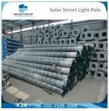 Via solare esterna galvanizzata Hot-DIP rotonda/conica palo chiaro di Q235 del LED